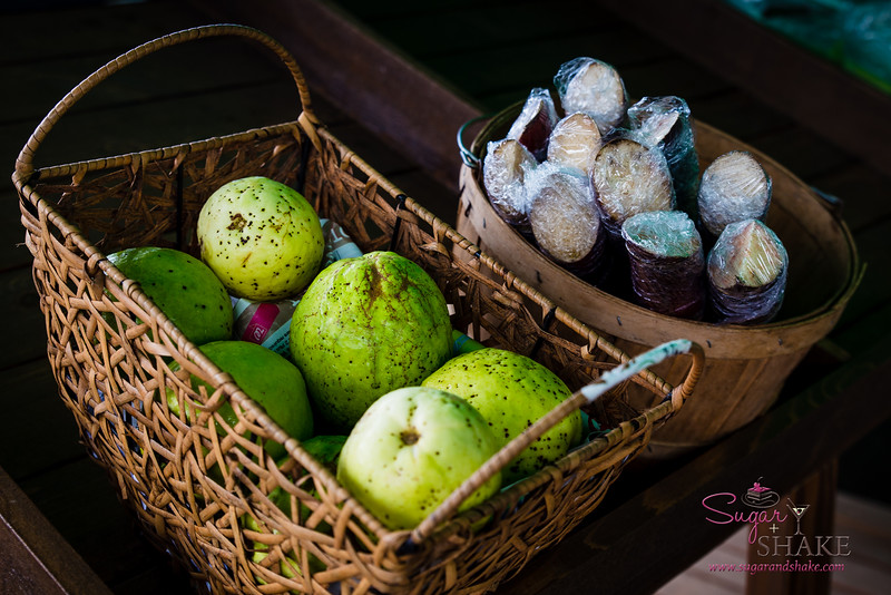 Guava and sugarcane at Hāna Fresh Farm Stand. © 2015 Sugar + Shake