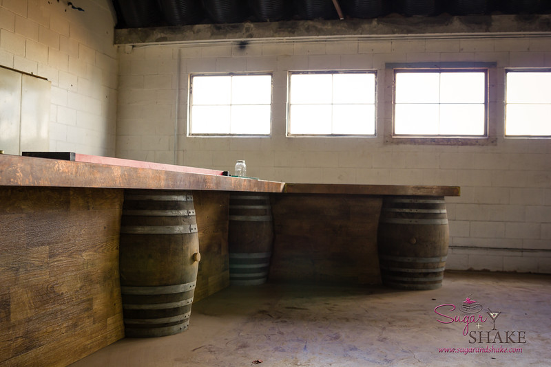 Can't wait to see how the tasting room bar looks when it's finished! (Manulele hopes for an opening around Valentine's Day 2015.) © 2015 Sugar + Shake