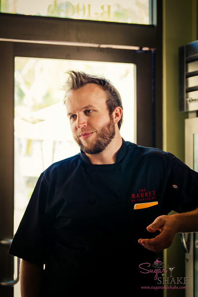 The Market and Capische? chef/co-owner Chris Kulis. © 2014 Sugar + Shake