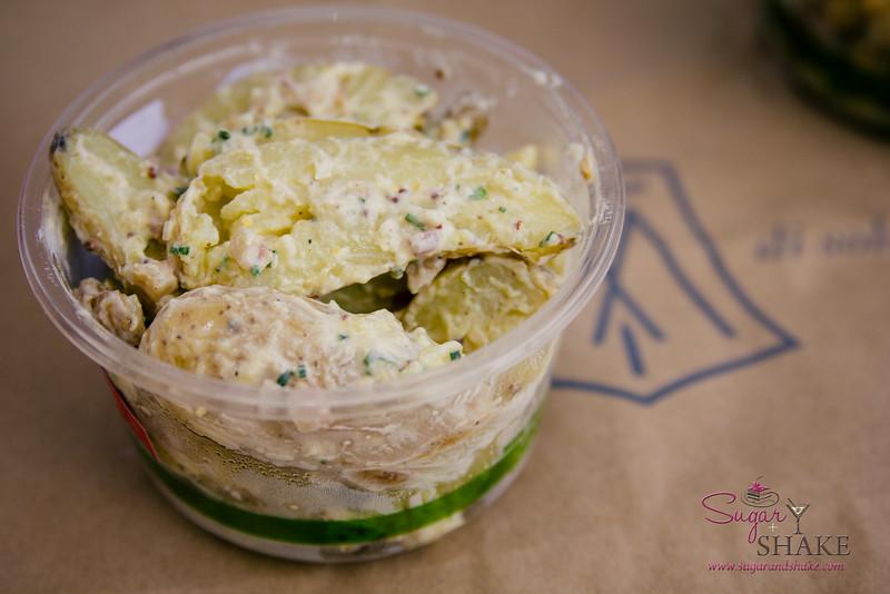 Deli potato salad from The Market by Capische. © 2014 Sugar + Shake