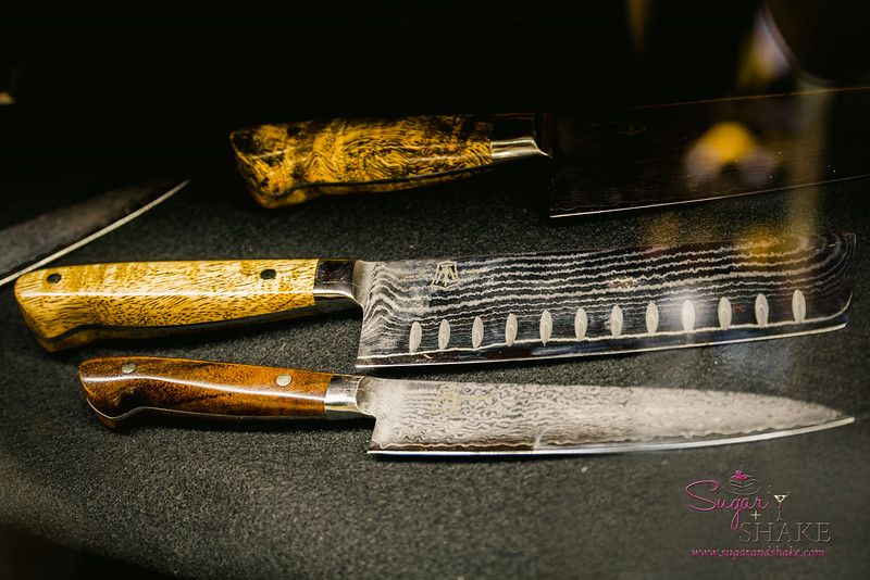Locally crafted knives. (The wood is local, although the metal is not.) The Market by Capische. © 2014 Sugar + Shake