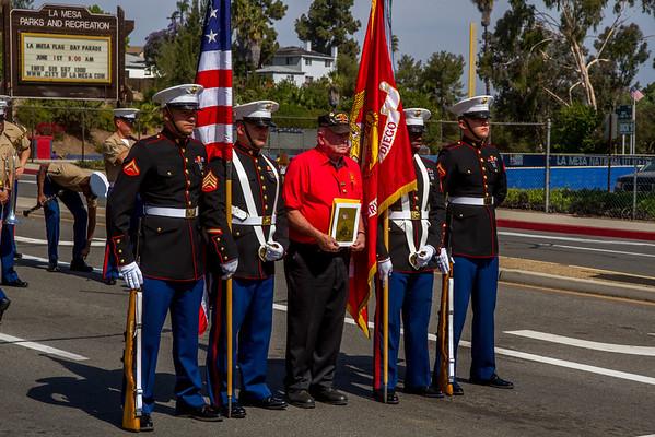 2013 La Mesa Flag Day Parade