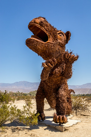 Borrego Springs and the Sculptures at Galleto Meadows