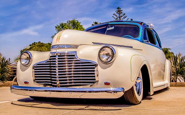 Car show at Manzanita Ales in Santee, May 2014