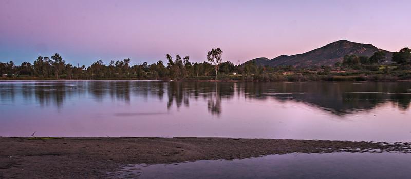 February 12, 2015: Sunrise at Lake Murray
