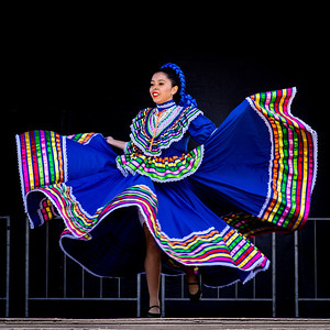 Folklorico dancing in Old Town