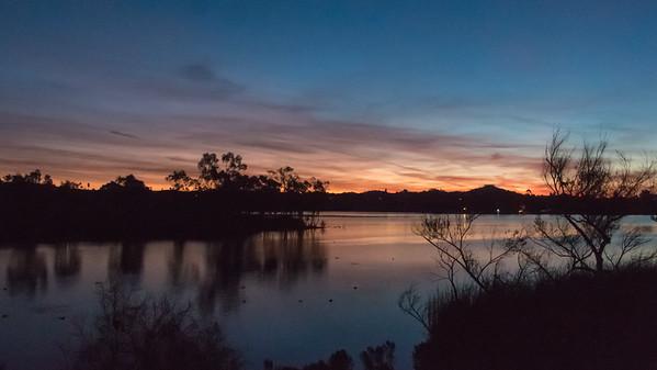 January 13, 2018: Lake Murray Sunrise