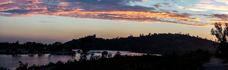 Lake Murray Sunset, August 1 & 2, 2017