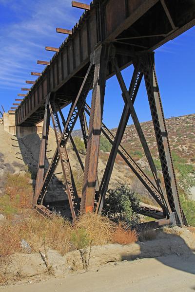 The San Diego and Arizona Railway bridge.