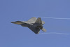 F22 making a high speed pass.