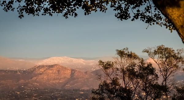 Mount Helix Sunset: January 4, 2015