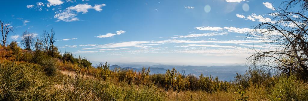 Palomar and Lake Henshaw Oct 30, 2014
