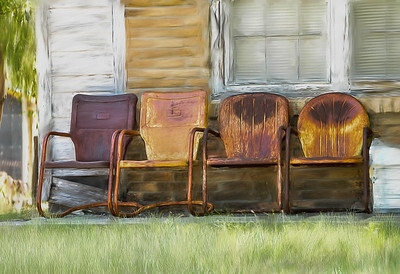 Rusty Chairs