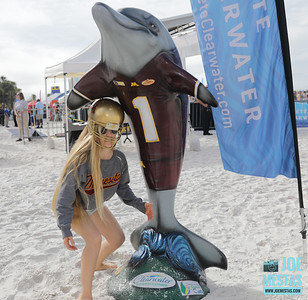 Clearwater Beach Day with Players, Band & Cheerleaders - Outback