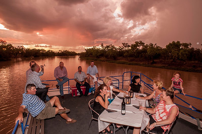 Thomson River Sunset Cruise on MV Explorer
