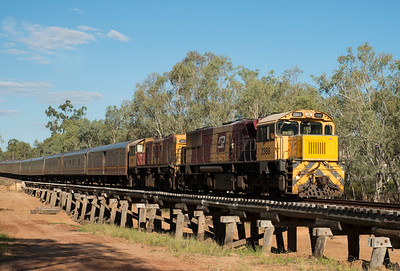 Spirit of the Outback - crossing Alice Creek