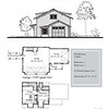 "The overall dimensions are 49'-0"" x 29'-0"" with 591 Heated Square Feet above. Outbuildings, page 45."