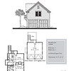 "The overall dimensions are 24'-0"" x 26'-0"" with 624 Heated Square Feet above. Outbuildings, page 79."
