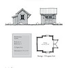 """The overall dimensions are 12'-0"""" x 12'-0"""". Outbuildings, page 102."""