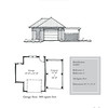 """The overall dimensions are 30'-2"""" x 22'-0"""". Outbuildings, page 23."""