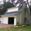 """G0010 built at Coosaw Point in Beaufort, South Carolina. The overall dimensions are 26'-8"""" x 24'-8"""" with 319 Heated Square Feet above. Outbuildings, page 85."""