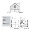 "The overall dimensions are 24'-0"" x 22'-0"" with 528 Heated Square Feet above. Outbuildings, page 74."