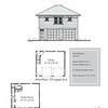 "The overall dimensions are 24'-0"" x 28'-0"" with 672 Heated Square Feet above. Outbuildings, page 53."