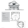 "The overall dimensions are 28'-0"" x 36'-0"" with 333 Heated Square Feet above. Outbuildings, page 72."
