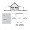 """The overall dimensions are 47'-8"""" x 26'-0"""". Outbuildings, page 96."""