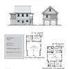 """This plan is 22'-0"""" x 30'-0"""" with 671 Heated Square Feet above. Outbuildings, page 56."""