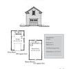 "G0023 is a 1-car garage with bonus space above. The overall dimensions are 16'-0"" x 24'-0"" with 321 heated square feet.  Outbuildings, page 83."