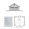 "G0024 is a 2-car garage. The overall dimensions are 24'-0"" x 20'-0"". Outbuildings, page 32."