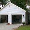 """G0024 built at Coosaw Point on Lady's Island in Beaufort, South Carolina. The overall dimensions are 24'-0"""" x 20'-0"""". Outbuildings, page 32."""