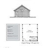 """G0025 is a 2-car carport. The overall dimensions are 22'-0"""" x 24'-0"""". Outbuildings, page 90."""