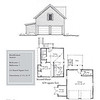 "G0028 is a 2-car garage with bonus space above. The overall dimensions are 32'-0"" x 26'-0"" with 624 heated square feet.  Outbuildings, page 66."
