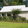 """G0029 built at Coosaw Point on Lady's Island in Beaufort, South Carolina. The overall dimensions are 22'-0"""" x 24'-0"""". Outbuildings, page 89."""