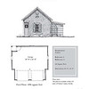 "G0031 is a 2-car garage. The overall dimensions are 28'-0"" x 26'-0"". Outbuildings, page 41."
