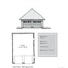"""G0037 is a 2-car garage. The overall dimensions are 22'-0"""" x 30'-0"""". Outbuildings, page 39."""