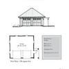 "G0041 is a 2-car garage. The overall dimensions are 24'-0"" x 22'-0"". Outbuildings, page 37."