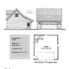 "G0046 is a 2-car garage. The overall dimensions are 24'-0"" x 24'-0"", 576 square feet.  Outbuildings, page 26."
