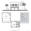 "The garage is 24'-8"" x 24'-8"" with 328 Heated Square Feet above. Outbuildings, page 79."