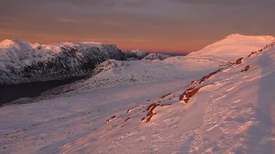 sunrise on a mhaighdean