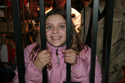 Katie got locked inside the gift shop!