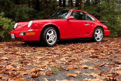 Porsche RS America - Porsche 911 Carrera 1993.  Photograph by Jeff Scher