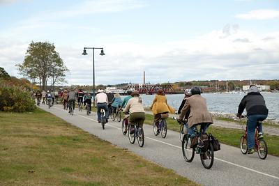 Tweed Ride Portland, Maine 10.26.14