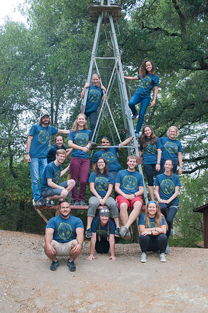 2016-2017 Outdoor Education staff