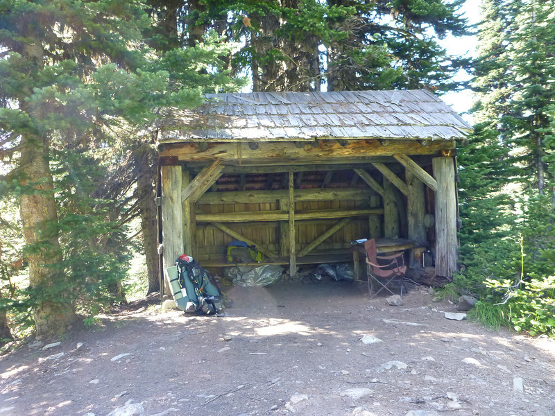 Bear Skull shelter.