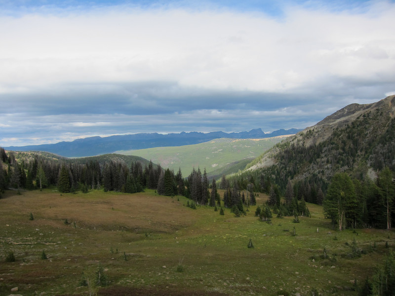 Top of McCall Gulch (nr Corral Lake)