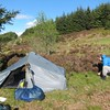 Fetteresso Forrest - loverly campsite (thanks Graeme!) at NO721875