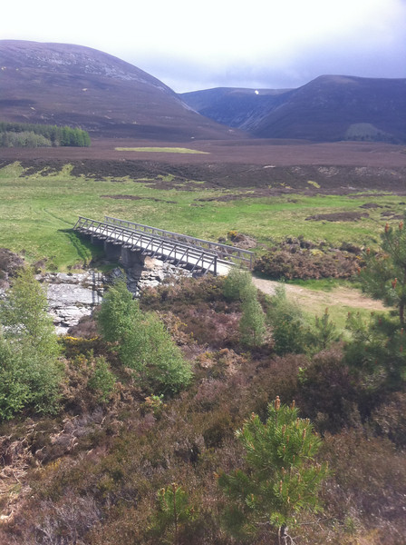 Bridge over river Feshie nr. Stonetrooper